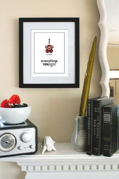 """Mario: """"I Die Everytime You Go"""" by ModernStylographer ($16)"""