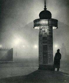 "The photographer, George Brassaï - ""Vue Nocturne"", ca.1935."