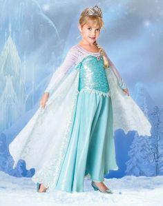Limited Edition Disney Store Elsa Frozen Dress Costume Le Size 8 Princess | eBay