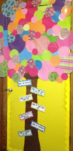 the leader in me, teaching with the 7 habits.  Love the colorful, non traditional tree!