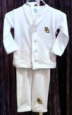 #Baylor Infant Pajama Set
