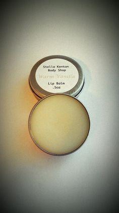 Warm Vanilla Lip Balm. Handmade with Love