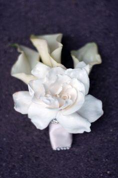 Calla lily and gardenia corsage