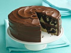 Gluten Free Marble Cake recipe from Betty Crocker