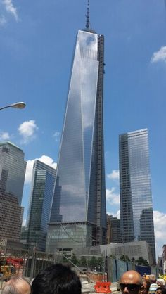 Freedom Tower, Summer 2013