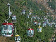 Cable Cars, Ocean Park, Hong Kong