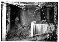 Grey Gardens back porch - 1972. Time for a little spring cleaning.