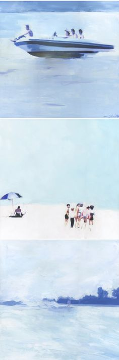"""lisa golightly, pieces from """"endless summer"""" show"""