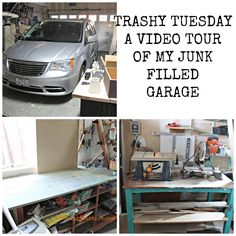 Trashy Tuesday, weekly Dumpster Diving series. This week, humorous look at cleaning out my garage and a fun video to go with it.  Hopefully you will be inspired to organize your work space too!  REDOUXINTERIORS.COM FACEBOOK: REDOUXINTERIORS