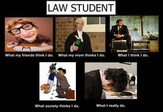 """Change the title from """"Law Student"""" to """"Associate Attorney"""" and it's spot on"""