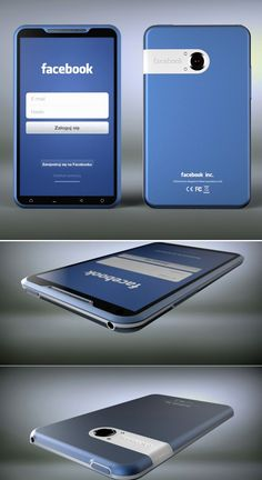 The rumored Facebook Phone could look like this