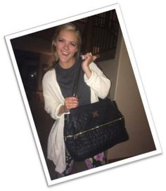 American Idol's Kenzie Hall sporting a Miche Prima Bag #handbags #miche #fashion #celebrity #michecelebritysightings