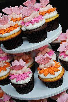 Fairy Baby Cupcakes
