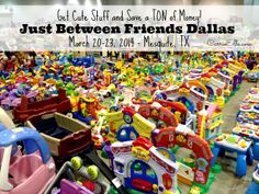 Just Between Friends Dallas, March 20-23