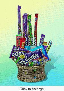 Willy Wonka Gift Basket $42.50