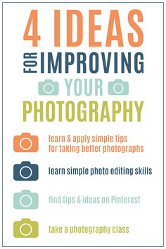 4 Ideas for Improving Your Photography | click image to see tips for taking better photos & photo editing tips