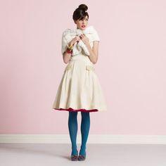 Vestido curto de noiva da Kate Spade Wedding Belles!