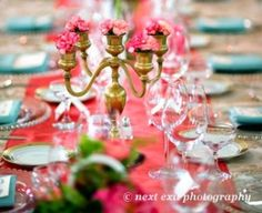 coral and turquoise wedding ideas - Google Search