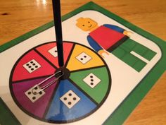Building Block Fun - This FREE activity can be used in so many ways!  color wheel identification game