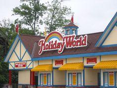 Holiday World Amusement Park-FUN.