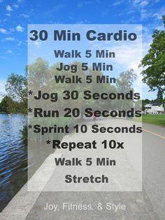 30 min cardio #workout
