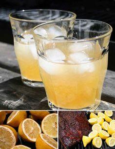 Smoked Lemonade with Rye Whiskey