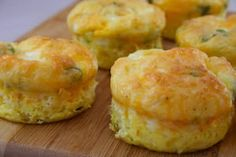 high protein make ahead egg muffins!