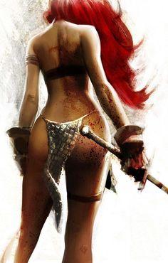 Red Sonja by DiegoYapur.deviantart.com on @deviantART