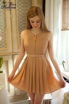 Great Gatsby Dress (pastel orange)