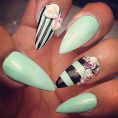 looking for fall nail art inspiration? see more here! #nails #nailart #fall #winter
