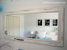 Awesome mirror makeover