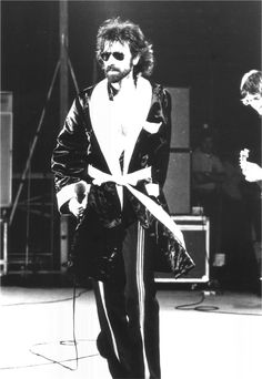 Peter Wolf of The J. Geils Band c.1977