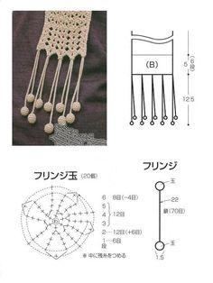 Muchas Bufandas tejidas a crochet : cosascositasycosotasconmesh