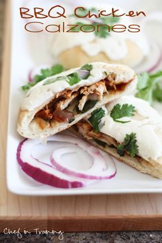 BBQ Chicken Calzones!  EXTREMELY easy to make and a recipe your entire family will love!