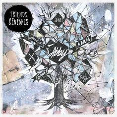 album cover art: abby - friends & enemies [07/2013]