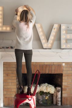 Valentine's Decor & Gift Ideas from The Moms Project  Read more - http://www.stylemepretty.com/living/2014/02/05/valentines-day-tip/