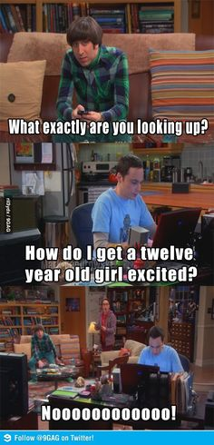 Haha oh Sheldon!