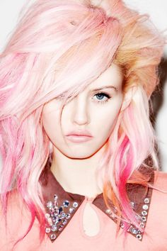#pink #dyed #hair - for more #hairstyle #inspiration, MyBeautyCompare Pinterest #color #bbloggers #stylist #trendy