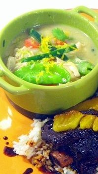 NOT Thai Coconut Chicken Soup... I love to go to a restaurant and order Thai Coconut soup.  BUT making it at home is difficult and expensive with all the exotic ingredients.  This recipe comes very very close with more common US available ingredients found in any grocery store.  All the flavor with half the cost.  Come take a look!