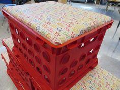Great Crate Storage Seats   Scholastic.com