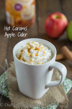 Hot Caramel Apple Cider