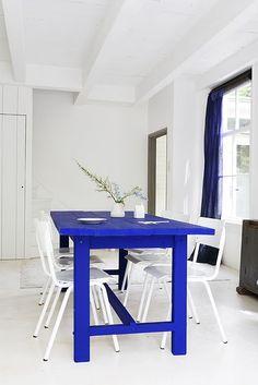 Blue Cutting Board via Natasja Molenaar
