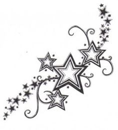 Star Tattoo @Sheila S.P. Finley Jamberry Nails Ind. Director