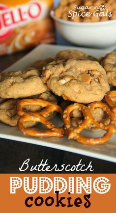 Butterscotch Pudding Cookies on MyRecipeMagic.com