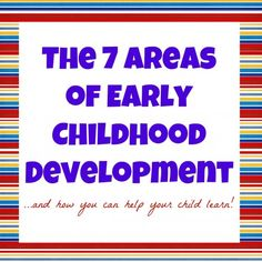 Child Studies- refresher on child development