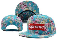 Supreme Flower Snapback Hat (2) , discount cheap  $5.9 - www.hatsmalls.com