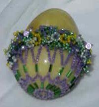 Floral Basket Egg