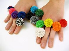 duct tape rings!