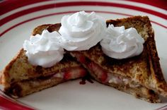 The REAL Housewives of Riverton: Strawberry and Cream Cheese Stuffed French Toast