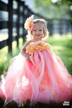 Tutu dress - #flower girls